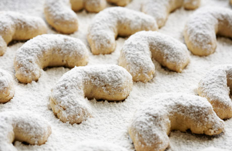 Mexican Wedding Cookies are commonly served at Christmas time and through