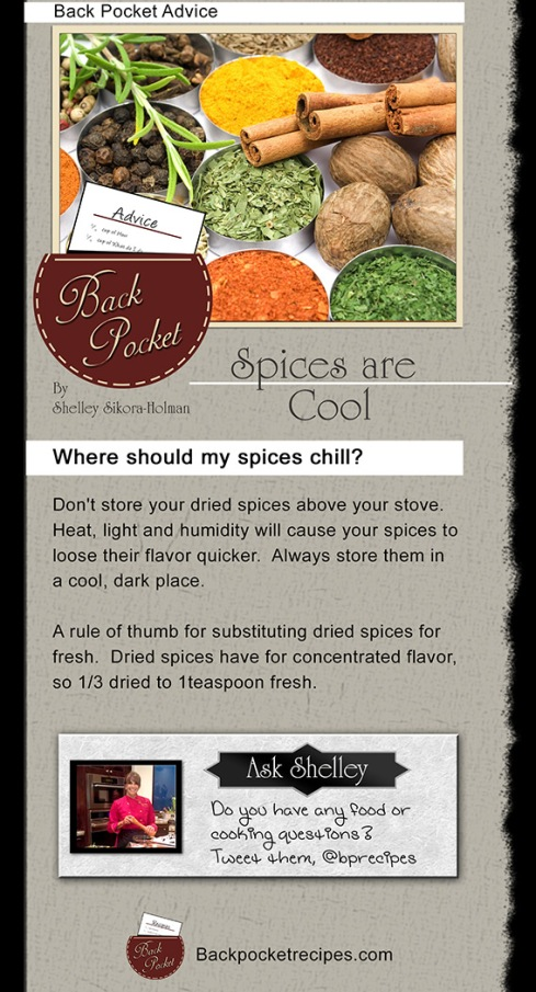 Spices are cool!
